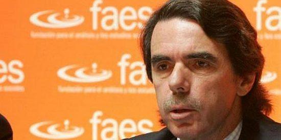 "Aznar: ""He sido transformado en un dóberman"""