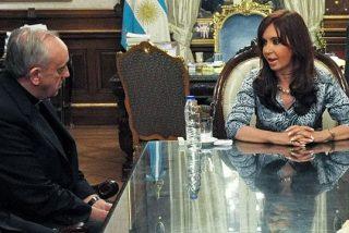 Bergoglio llevó su mensaje de concordia a Cristina Kirchner