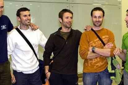 En Internet los cinco bomberos catalanes siguen siendo, y lo serán todas sus vidas, asesinos etarras