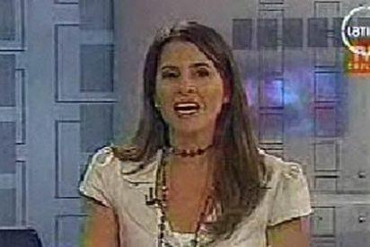 Terremoto en directo en telediario de Chile