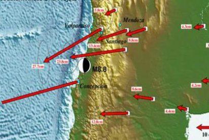 Terremoto habría movido a Concepción tres metros de su ubicación de origen