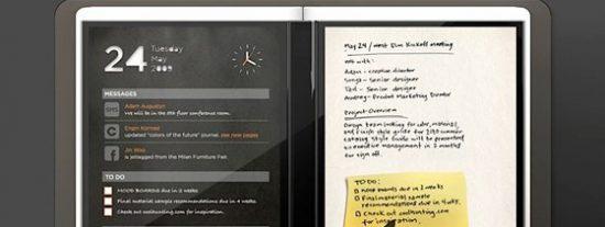 """Courier, la """"agenda digital"""" con la que Microsoft espera superar al iPad"""