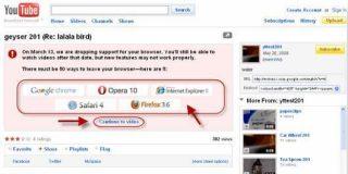 YouTube matará a Internet Explorer 6 el 13 de Marzo por viejo e inseguro