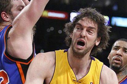Batacazo de los Lakers en Oklahoma