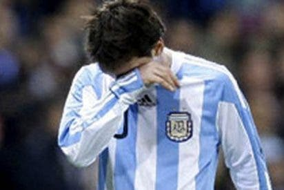 Messi, héroe en el Barcelona, pero negado con la albiceleste