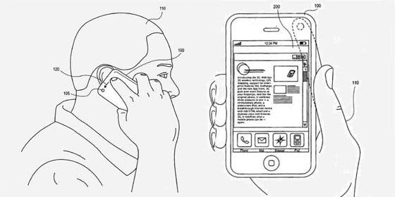 Apple patenta nuevo sistema de control mediante gestos para el iPhone