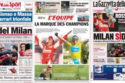 La prensa europea se rinde ante Alonso