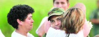 'Telechávez' dispuso de imágenes de Moncayo antes y después de ser liberado