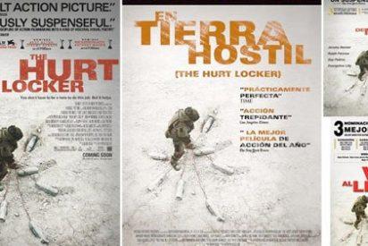 """""""Traducir la oscarizada 'The Hurt Locker' como 'En tierra hostil' es posicionarse ideológicamente"""""""