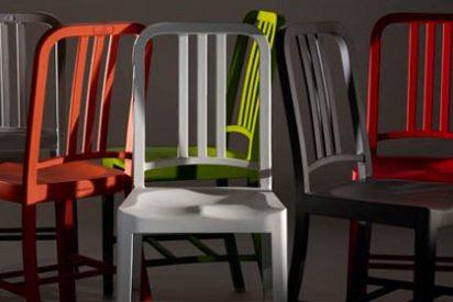 111 botellas de Coca-Cola para fabricar las sillas de la Marina estadounidense