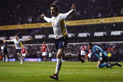 El Arsenal se aleja del título tras caer ante el Tottenham