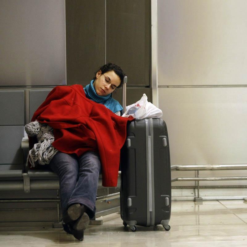 Suspendidos 453 vuelos entre España y el Norte de Europa