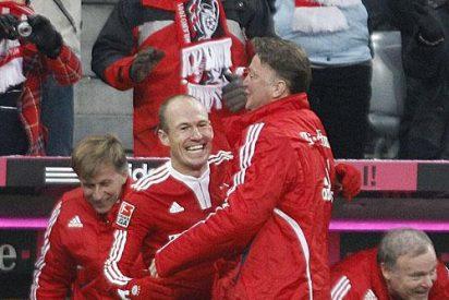 El Bayern de Munich no acusa la presión y sigue líder tras humillar (7-0) al Hannover