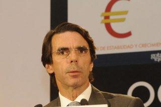 """Aznar: """"El paro y la crisis forman parte del ADN del socialismo español"""""""