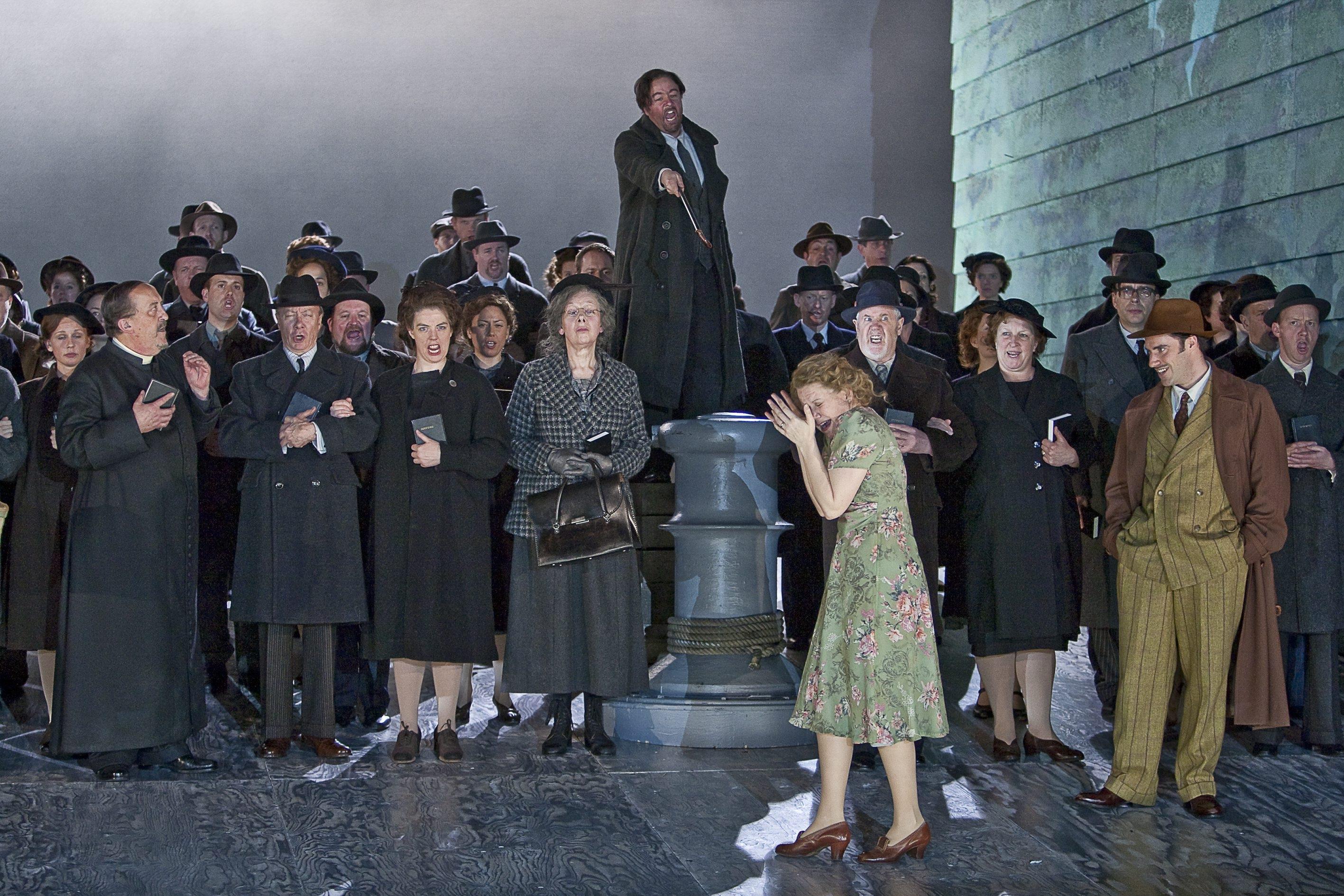 El 'Peter Grimes' producido por la Opera de Oviedo, finalista de los premios de la Royal Philharmonic Society de Londres