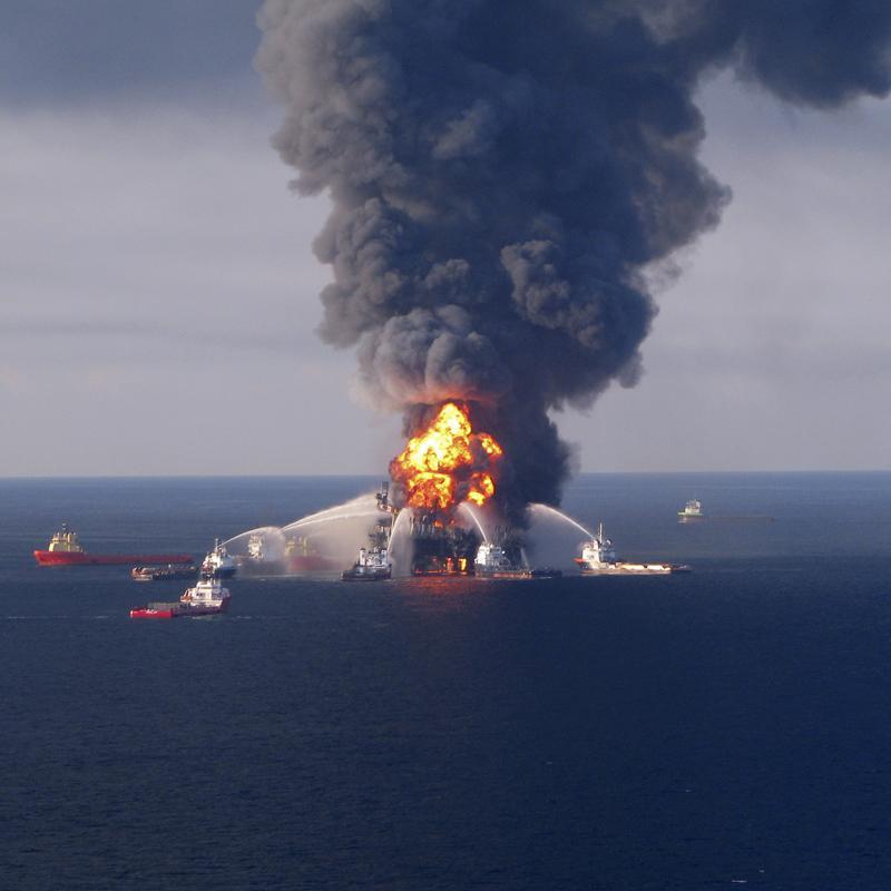 Gran cantidad de crudo podría estar derramándose en el Golfo de México