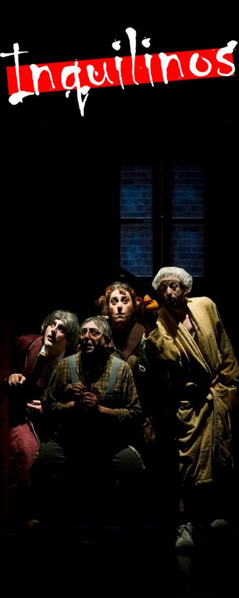 Azar Teatro presentará hoy en Olmedo (Valladolid) 'Inquilinos', su nuevo espectáculo de sala