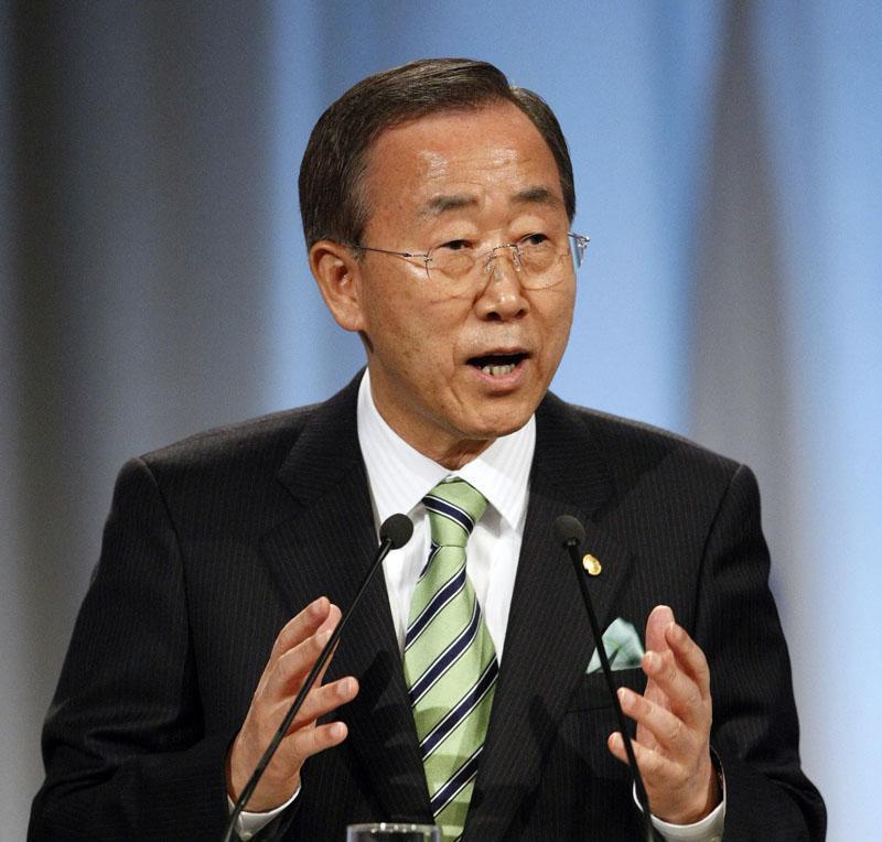 Ban Ki Moon reafirma su apoyo a la autodeterminación del Sáhara Occidental