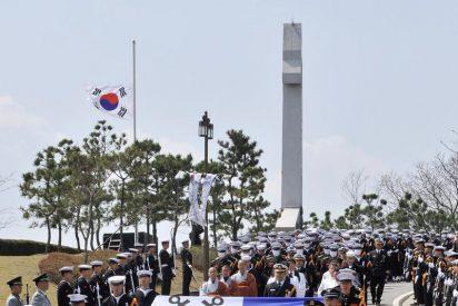 Corea del Sur celebra el funeral de los 46 marineros fallecidos
