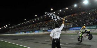 Rossi se adjudica la victoria en el límite de consumo de gasolina