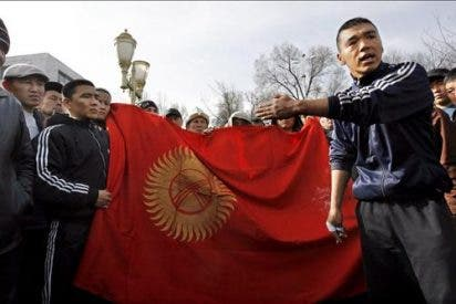 Bakíev declara que ante cualquier intento de detenerle correrá sangre