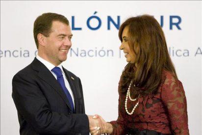 """Argentina y Rusia se comprometen a fortalecer la """"asociación estratégica"""""""