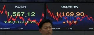 El índice Kospi sube 10,19 puntos el 0,58 por ciento hasta 1.745,52 puntos