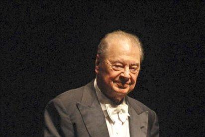 """Frühbeck de Burgos, medalla de Palau Valencia afirma """"cada día me gusta más la música"""""""