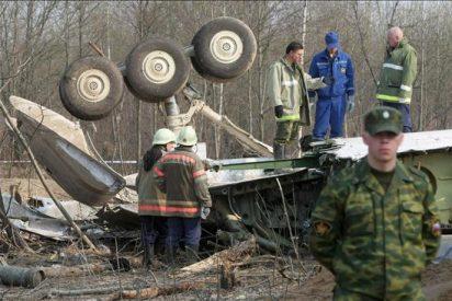 Los pilotos del avión presidencial polaco sabían que la colisión era inminente