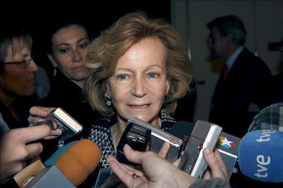 """Salgado cree que el IPC sigue """"la senda correcta"""" y descarta la deflación"""