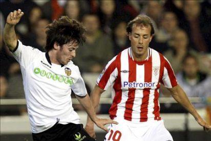 2-0. El Valencia vence al Athletic y se beneficia de la jornada para afianzarse en la tercera plaza