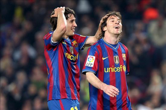 Messi conserva la ventaja de un punto sobre Villa