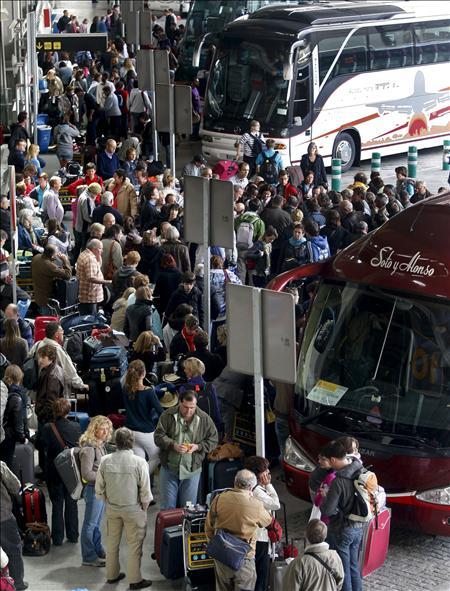 Iberia cancela los vuelos de hoy con el norte y centro de Europa