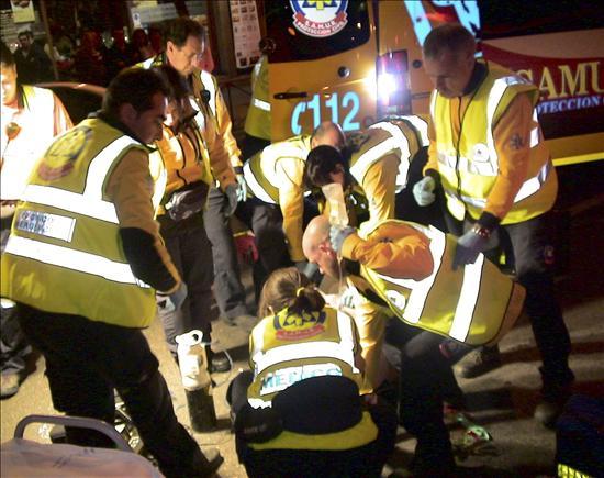 Muere un hombre apuñalado cerca de la estación madrileña de Chamartín