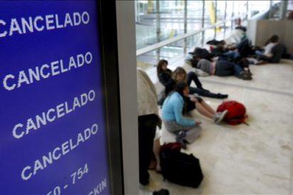 Cancelados 1.435 vuelos entre España y los países afectados hasta las 13.00 horas