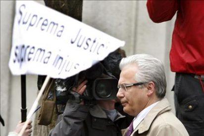 El CGPJ recibirá el jueves 200.000 firmas contra la suspensión de Garzón