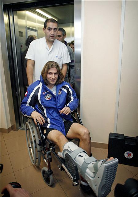 Filipe Luis vuelve a entrenarse con sus compañeros del Deportivo en menos de tres meses