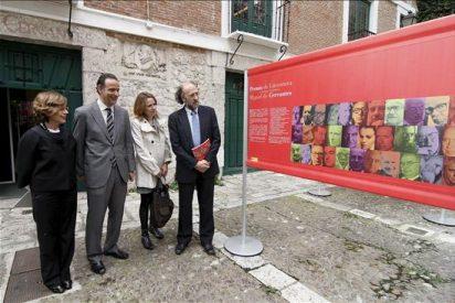 Cervantes acoge en su Casa de Valladolid a sus 35 hijos literarios