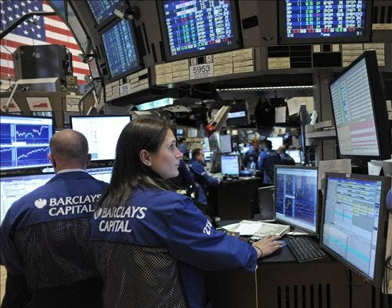 Wall Street sube un 0,2 por ciento en el ecuador de una sesión muy variable