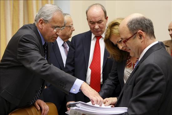 La Comisión aprueba el texto del Estatuto de Castilla-La Mancha con el voto en contra del PP