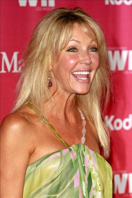 Detienen a la actriz Heather Locklear tras un incidente de tráfico