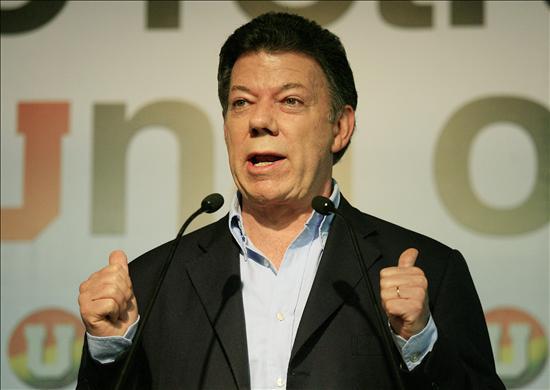 Santos está dispuesto a reunirse con Chávez si gana la Presidencia colombiana