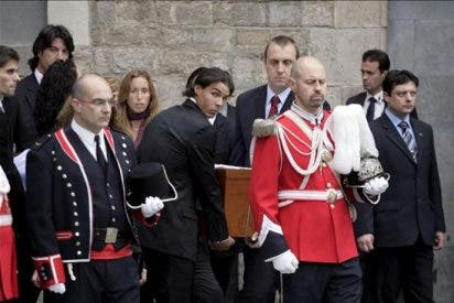 Samaranch recibe el último adiós con los máximos honores institucionales