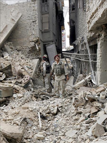 Al menos 6 muertos y 10 heridos por explosiones al oeste de Bagdad