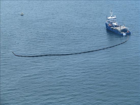 Reaseguradoras alemanas habían asegurado la plataforma petrolera hundida