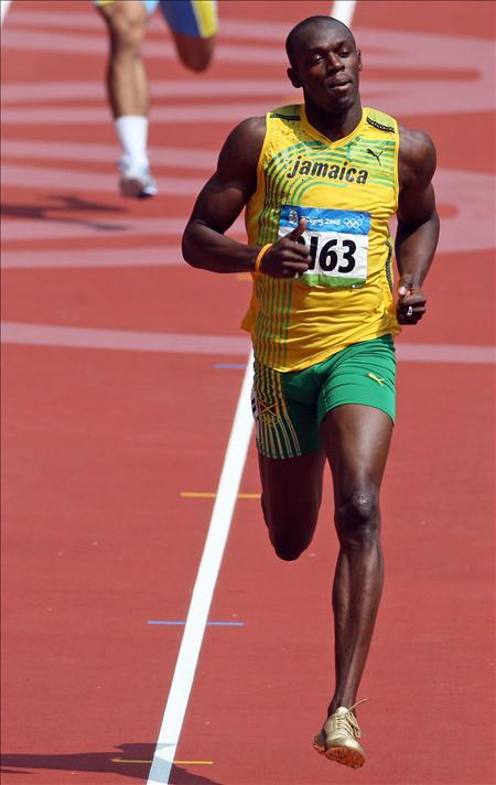 """Bolt declara que sólo correrá los 400 """"para llegar a ser una leyenda"""""""