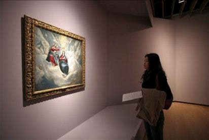 """""""La coronación de la Virgen"""" de El Greco, ventana al arte español en Nagasaki"""