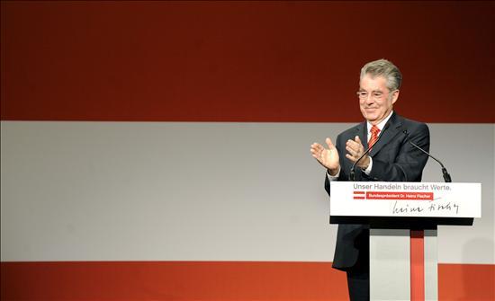 Fischer aparece como el seguro ganador en las elecciones austríacas