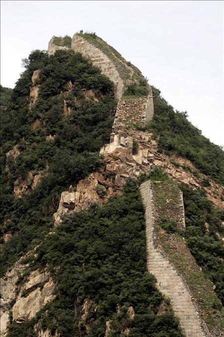 China preservará los tramos más antiguos de la Gran Muralla