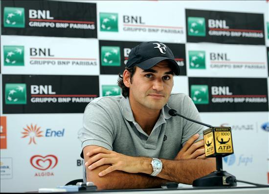 Federer cae ante Gulbis en su estreno en Roma